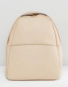 Серо-коричневый рюкзак Glamorous Minimal - Бежевый