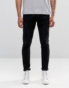 Черные джинсы скинни Diesel Tepphar 674N - Черный