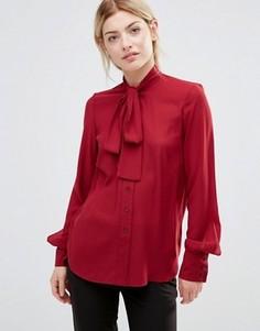 Блузка с завязкой у шеи Alter - Красный