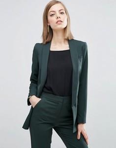 Блейзер в строгом стиле ASOS Premium - Зеленый