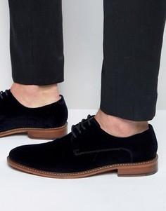 Бархатные туфли дерби Ted Baker Nierro - Темно-синий