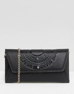 Мини-сумка через плечо с логотипом Versace Jeans - Черный