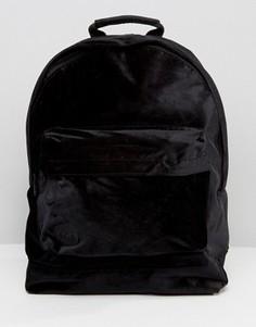 Черный бархатный рюкзак Mi-Pac - Черный
