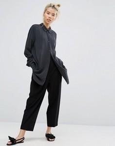 Зауженные брюки Weekday - Черный