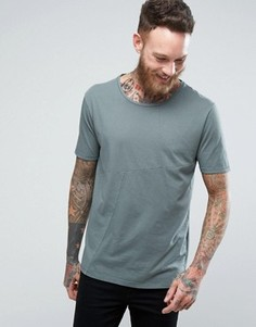 Nudie Jeans Co Ove Patched T-Shirt - Зеленый