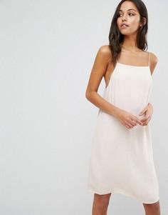 Платье-комбинация Samsoe & Samsoe - Кремовый