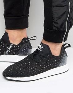 Черные кроссовки adidas Originals ZX Flux - Черный