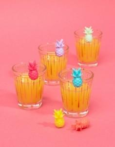 Маркеры для бокалов в форме ананаса Sunnylife - Мульти