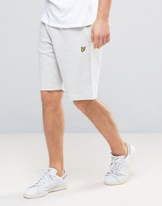 Lyle & Scott Sweat Shorts Regular Fit Eagle Logo in Grey Marl - Серый