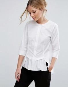Рубашка с баской Vero Moda - Белый