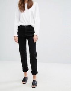 Узкие джинсы в винтажном стиле с завышенной талией Dr Denim Edie - Черный