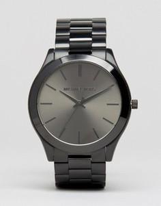 Наручные часы из нержавеющей стали Michael Kors Runway MK8507 - Черный