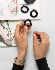 Черная тугая резинка для волос Invisibobble - Черный
