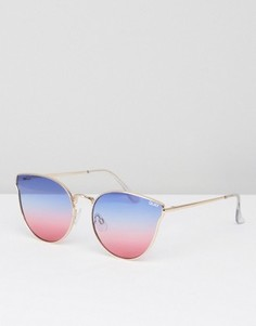 Солнцезащитные очки Quay Australia All My Love - Розовый