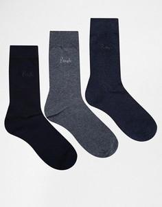 Комплект из 3 носков Pringle Endrick - Синий
