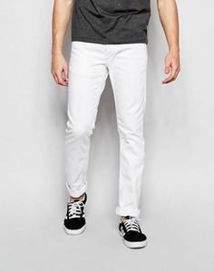 Белые джинсы узкого кроя Jack & Jones - Белый