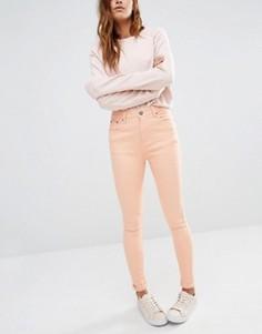 Облегающие джинсы с завышенной талией Liquor & Poker - Розовый