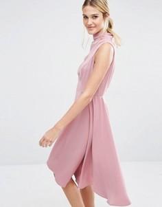 Платье мини Keepsake Break Even - Розовый