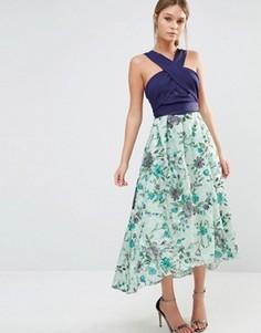 Платье миди с вышивкой Coast Monroe - Мульти