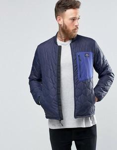 Легкая стеганая куртка-пилот Penfield Oakdale - Темно-синий