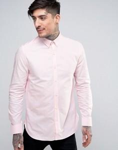 Узкая рубашка Ben Sherman - Розовый