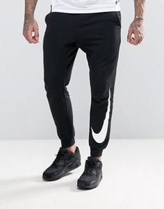 Черные джоггеры на манжетах Nike 831816-010 - Черный
