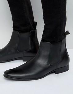 Кожаные ботинки челси Red Tape - Черный