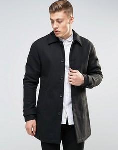 Шерстяное пальто Produkt - Черный