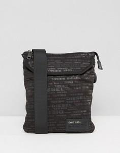 Черная сумка с логотипом Diesel - Черный