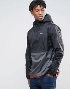 Водонепроницаемая 2-цветная куртка Patagonia Torrentshell - Черный