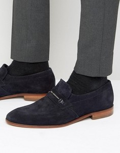 HUGO by Hugo Boss Dressapp Suede Loafers - Темно-синий