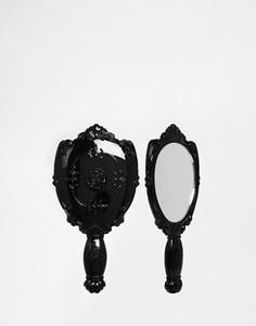Ручное зеркальце Anna Sui - Бесцветный