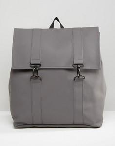 Серый рюкзак Rains Messenger - Серый