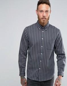 Рубашка в полоску Edwin - Серый