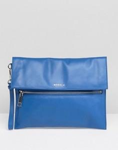 Кожаный клатч Modalu - Синий