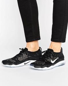 Кроссовки Nike Training Free TR Focus Flyknit - Черный