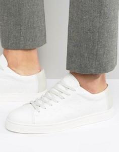 Кожаные кроссовки Selected Homme Davied - Белый