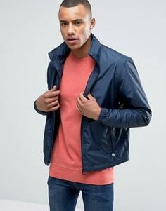 Легкая куртка со скрытым капюшоном Esprit - Темно-синий