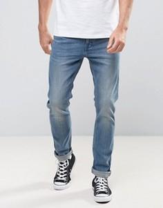 Levis Line 8 Slim Unisex Jeans In Blue Mid Authentic - Синий