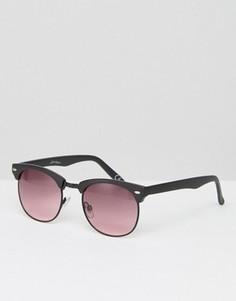 Солнцезащитные очки в стиле ретро Jeepers Peepers - Черный