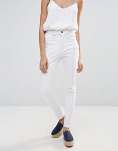 Белые джинсы скинни Neon Rose - Белый
