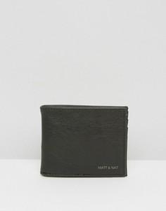 Matt & Nat Rubben Bilford Wallet - Черный