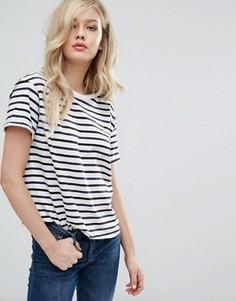 Свободная футболка в полоску Lee - Мульти