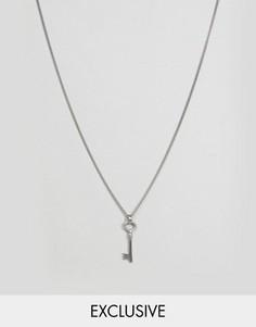 Ожерелье с подвеской в форме ключика Simon Carter - Мульти