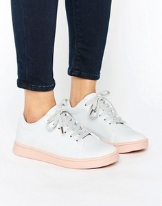 Кроссовки на розовой подошве Truffle - Серый