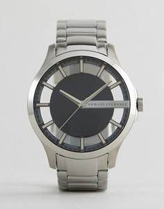 Часы из нержавеющей стали Armani Exchange AX2179 - Серебряный