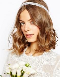 Украшение для волос с цветами и искусственным жемчугом ASOS - Кремовый