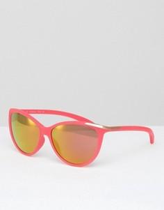 Солнцезащитные очки кошачий глаз с зеркальными стеклами CK Jeans - Розовый Calvin Klein