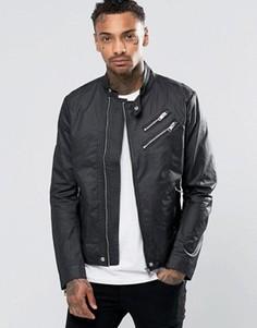 Байкерская куртка Diesel J‑Oyton - Черный