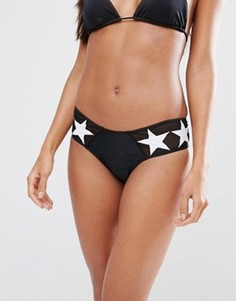 Плавки бикини со звездами Motel - Черный